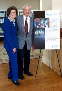 Photograph of Warren and Katharine Schlinger