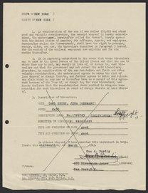 Letter from D.M. Liddell Jr. to Max Bredig