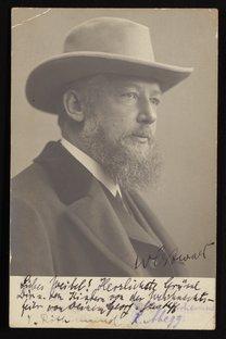 Portrait of Wilhelm Ostwald, 1903