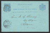 Postcard from Jacobus H. van 't Hoff to Georg Bredig, June 1895